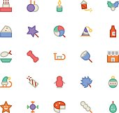 Christmas Vectors Icons 4