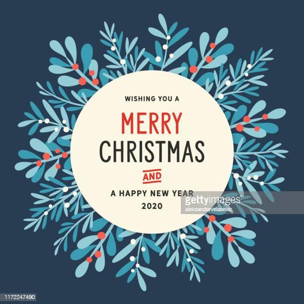 weihnachtskranz hintergrund - ast pflanzenbestandteil stock-grafiken, -clipart, -cartoons und -symbole