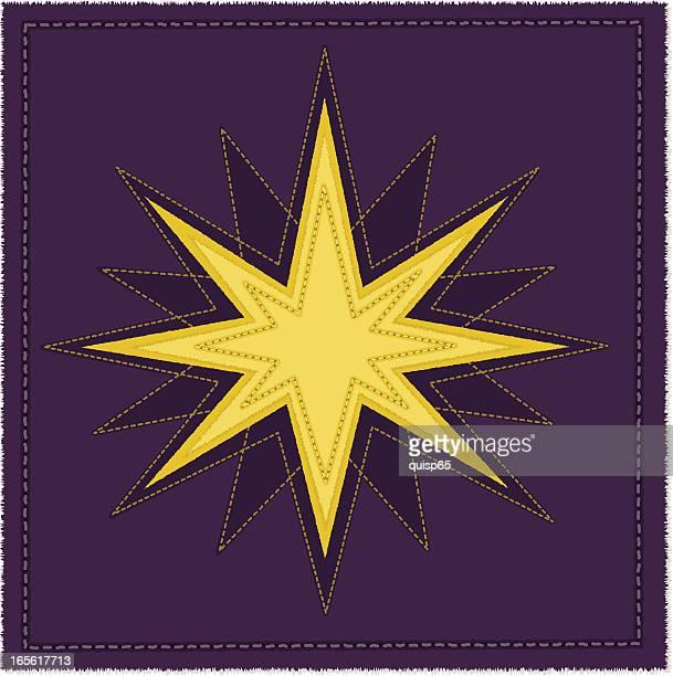 christmas/north star - north star stock illustrations