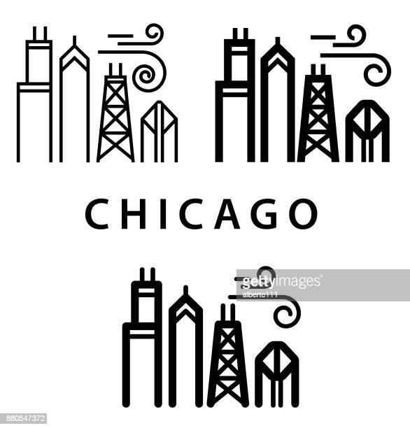 Chunky Chicago Illustration