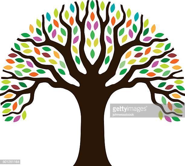 Chunky little tree illustration