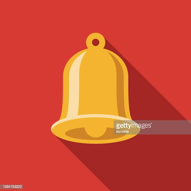 church bell christian icon - bell stock illustrations