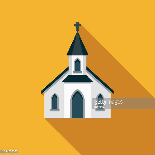 church christian icon - church stock illustrations