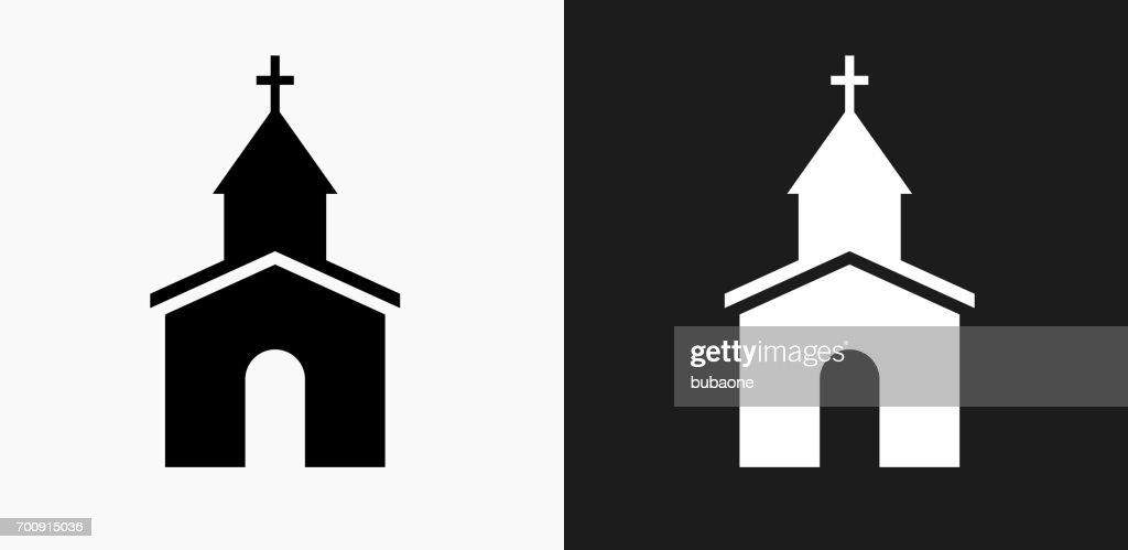 Kirche Clipart Schwarz Weiß