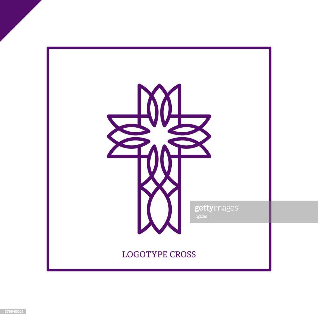 Church Logo Christian Symbols Jesus Cross Vector Art Getty Images