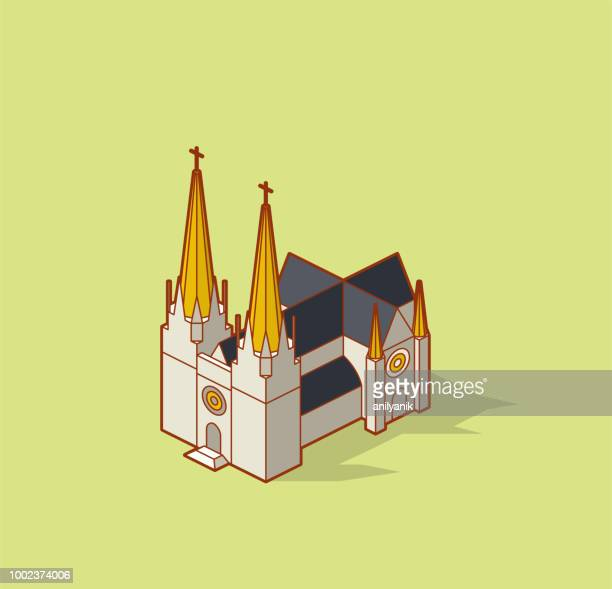 church - cathedral stock illustrations