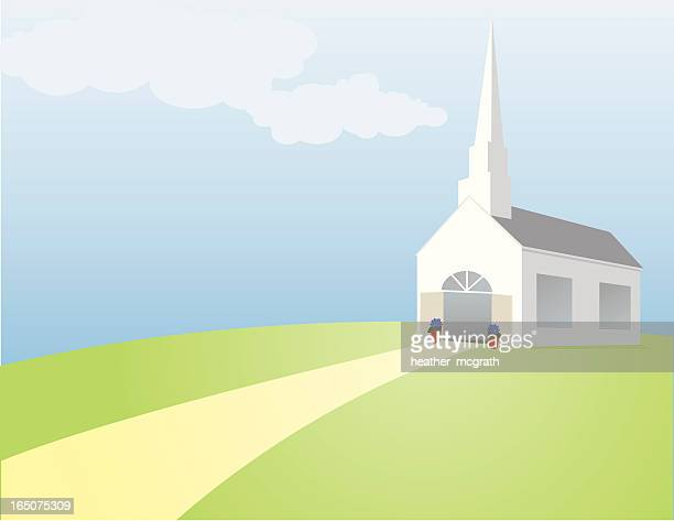 church - spire stock illustrations, clip art, cartoons, & icons