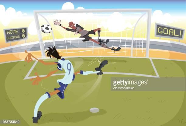 Chutando pênalti (futebol)