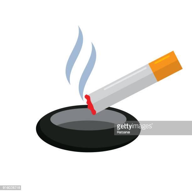 ilustraciones, imágenes clip art, dibujos animados e iconos de stock de cigarrillo - cigarrillo