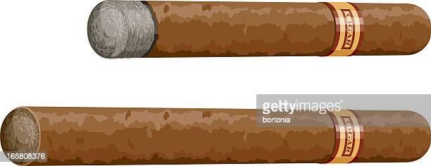cigars - cigar stock illustrations