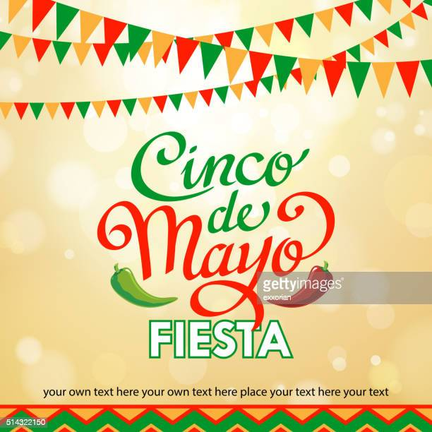 cinco de mayo background - cinco de mayo stock illustrations