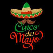 Cinco De Mayo Sombrero Symbol