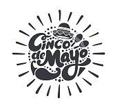 Cinco de mayo symbol.