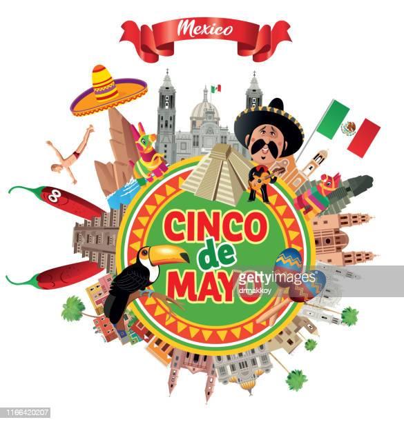 ilustrações, clipart, desenhos animados e ícones de cinco de mayo - pinata