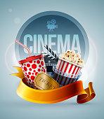 Cinema concept banner