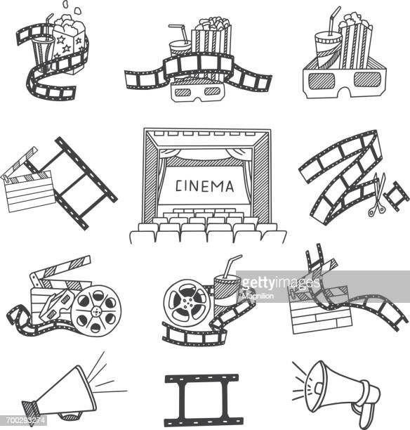 Cinema Doodles Set