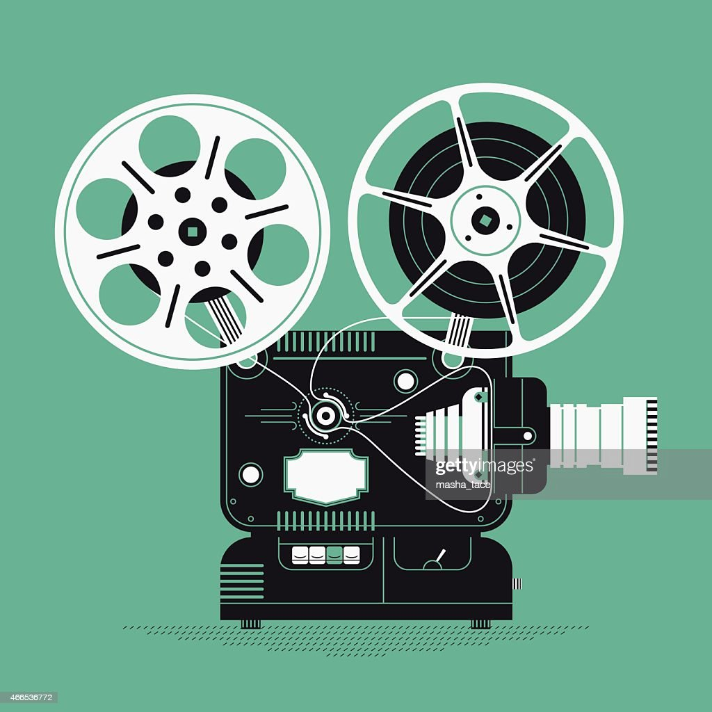 Cinema motion picture film projector