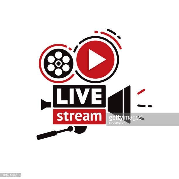 cinema movie camera - live broadcast stock illustrations