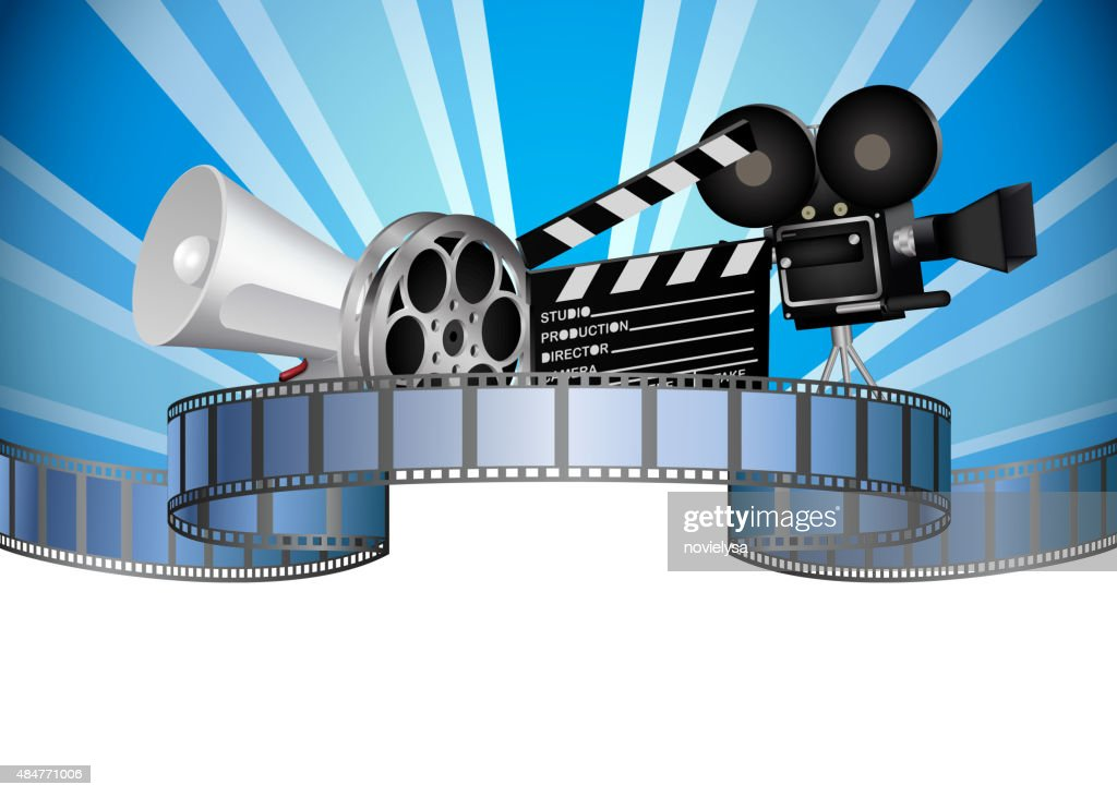 Cinema, movie, film and video media industry