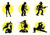 Cinema Silhouettes Icons_11