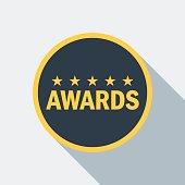 cinema star award icon