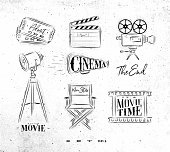 Cinema symbols coal
