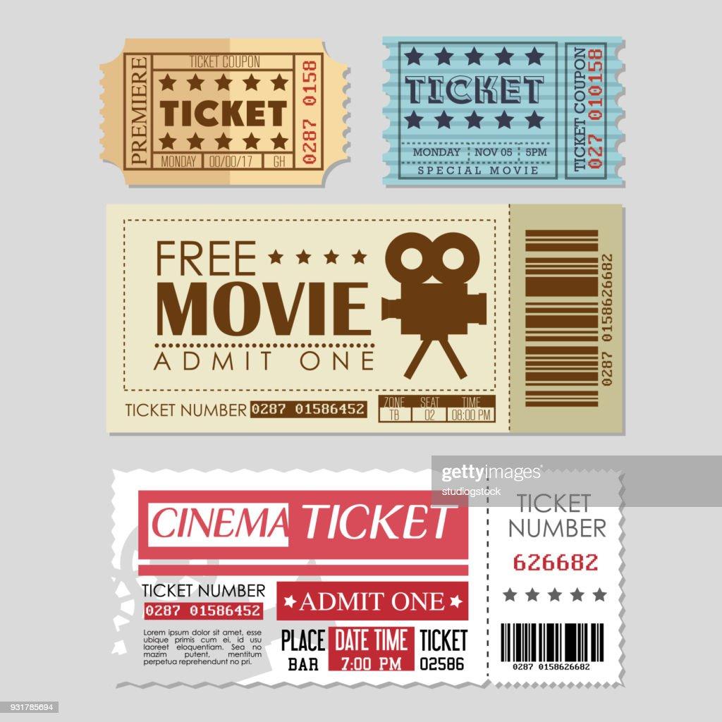 cinema ticket entrance icon