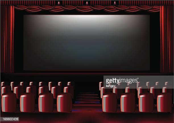 19 Movie Theater Seats Background High Res Illustrations Getty Images