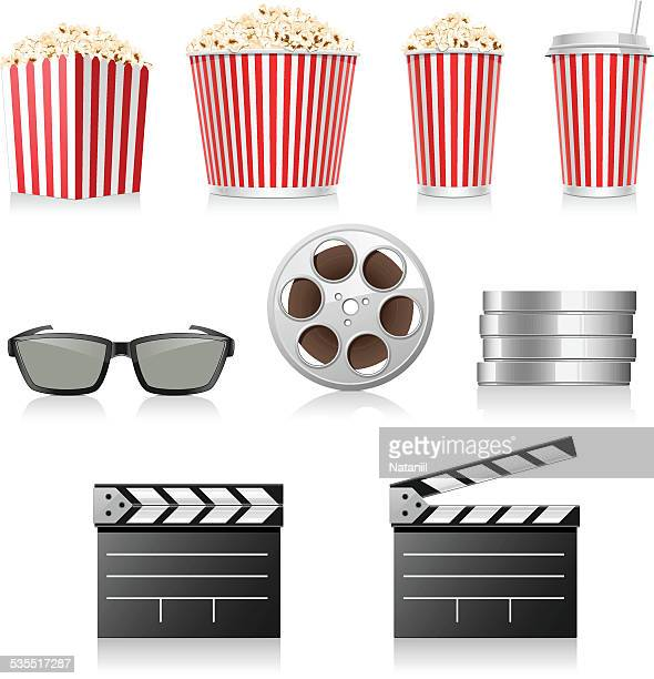 cinema - carbonated stock illustrations, clip art, cartoons, & icons