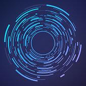 Circle Abstract Target