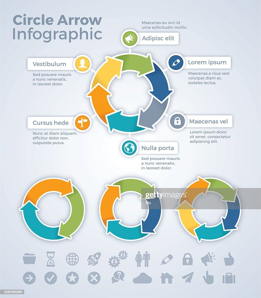 Circle Arrow Infographic