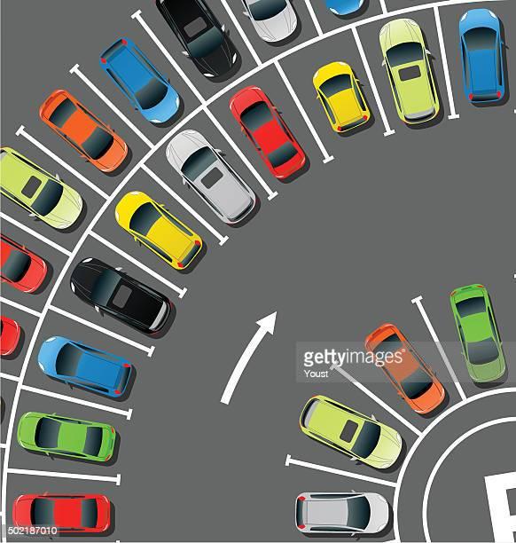 Circle Car Parking