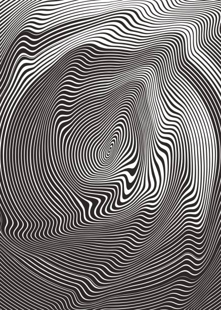 circle halftone pattern abstract background - melting stock illustrations