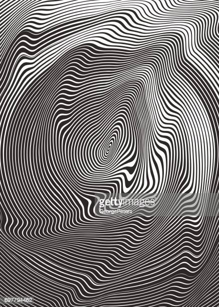 circle halftone pattern abstract background - optical illusion stock illustrations