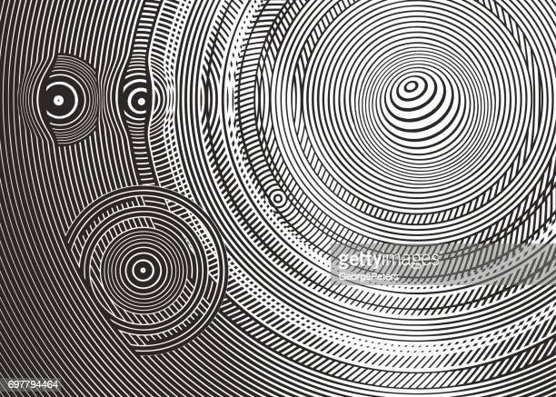 Cirkel halftoon patroon abstracte achtergrond