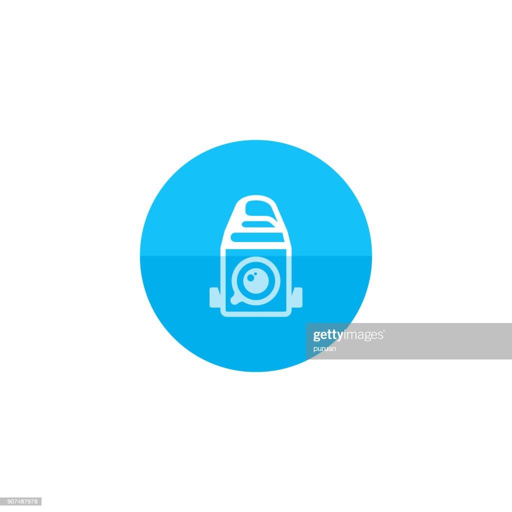 Circle icon - Camera