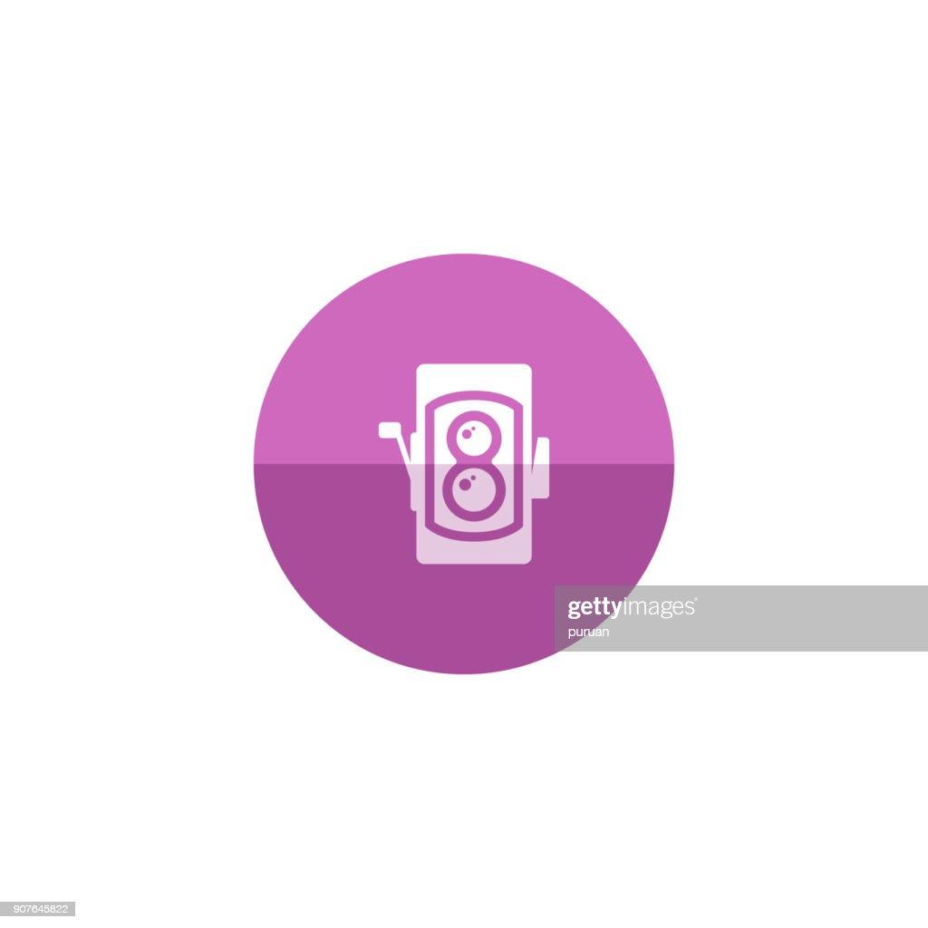 Circle icon - TLR camera