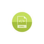 Circle icon - XML file format