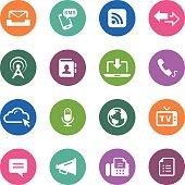 Circle Icons Series | Communication