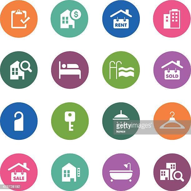 Circle Icons Series   Real Estate