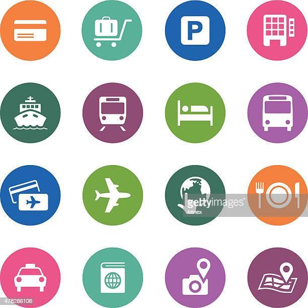 Circle Icons Series | Travel