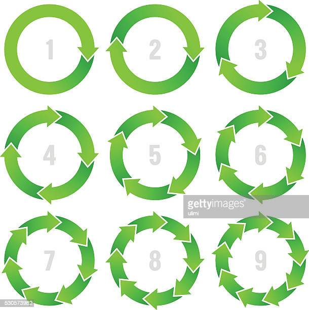 circle infographic - part of stock illustrations