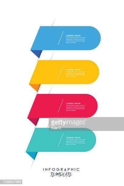 ilustrações de stock, clip art, desenhos animados e ícones de circle infographics elements design. abstract workflow stock illustration. speech bubble shapes - elemento de desenho