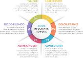 Circle Infographics - Six Elements
