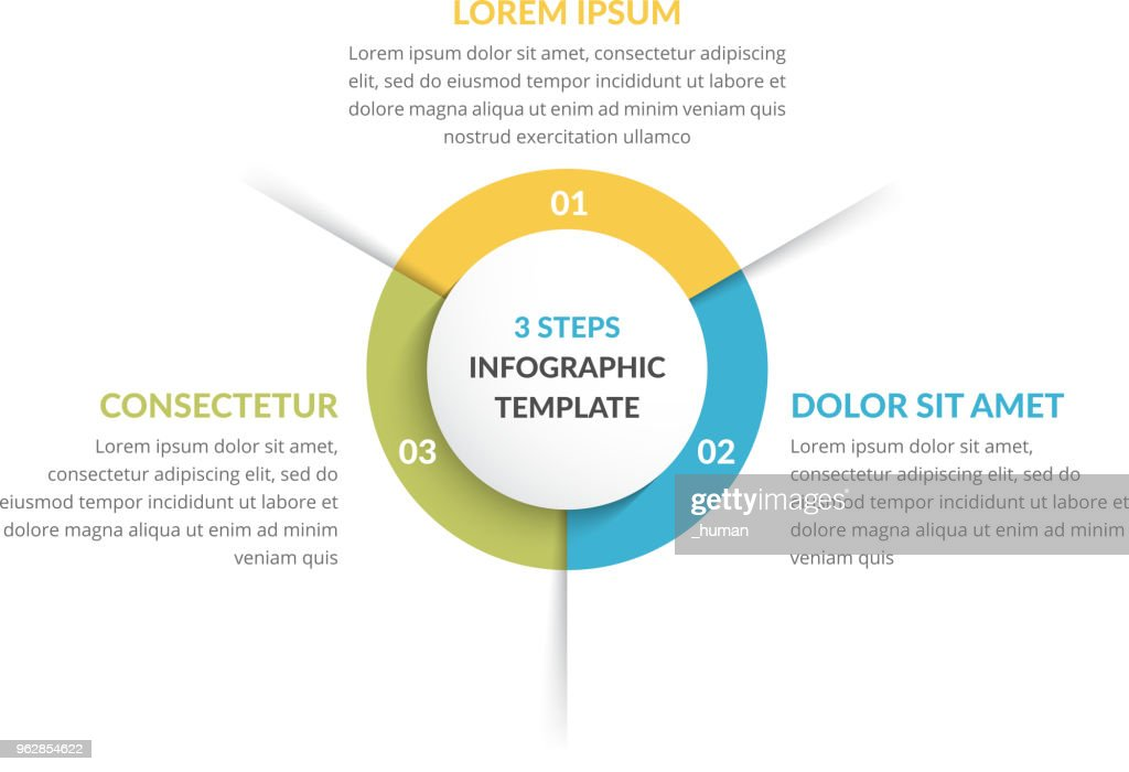 Circle Infographics - Three Elements