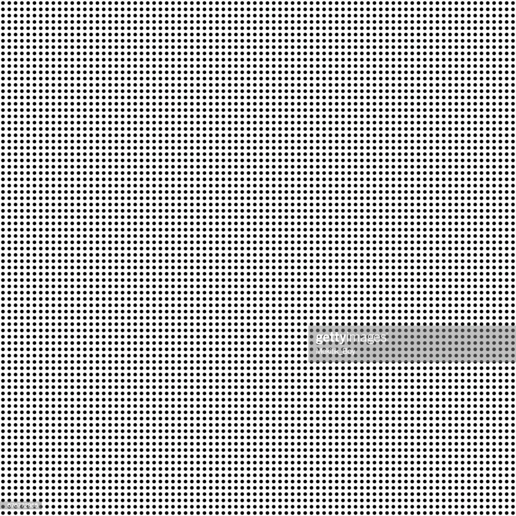 Circle pattern design background in Black and white