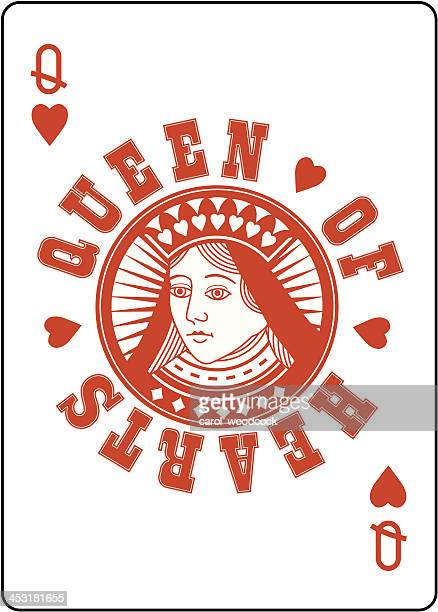 Circle Queen of Hearts