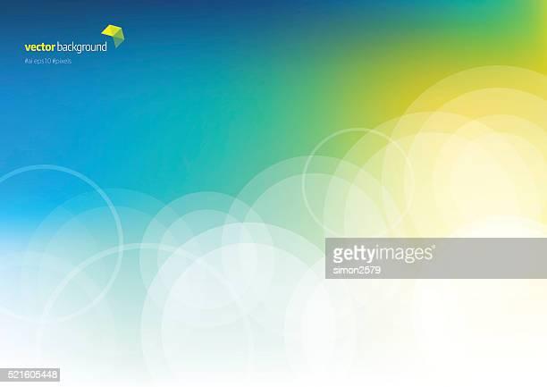 Kreis Form Technologie abstrakter Hintergrund
