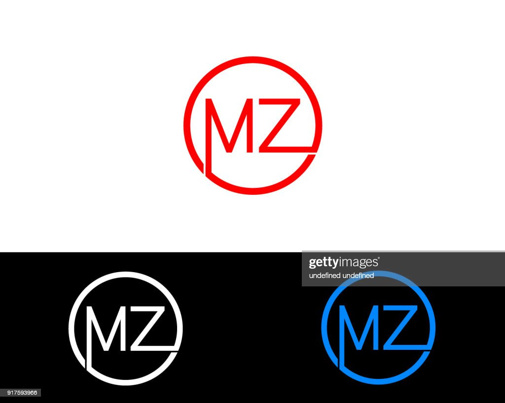 MZ Circle Shape vector design