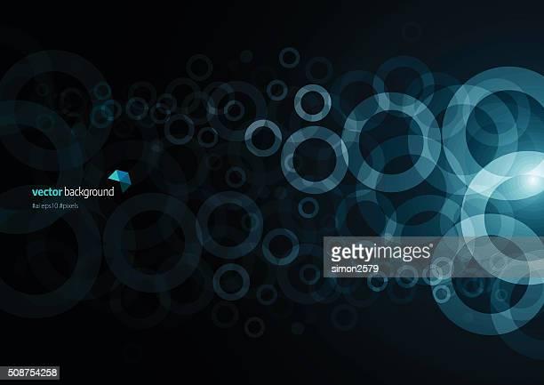 Fundo abstrato círculos